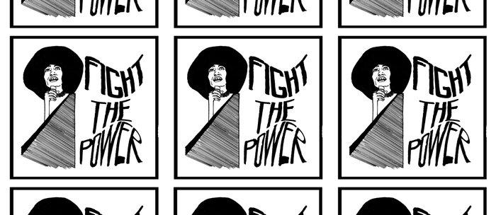 Fight the Power: Angela Davis Coffee Mug
