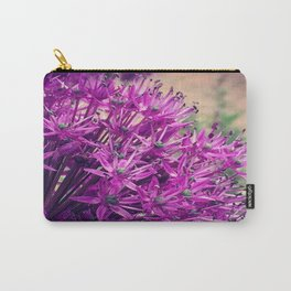 Purple Allium Carry-All Pouch