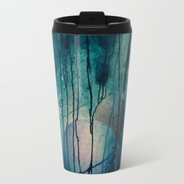 Blue spheres and tears II Travel Mug