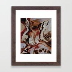 Something Within Framed Art Print