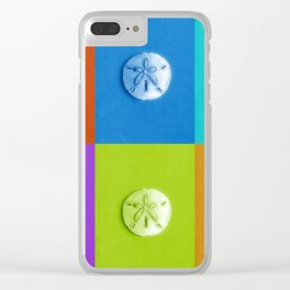 Sand Dollars - multicolor! Clear iPhone Case