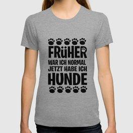 Dog man woman Gassi Crazy Paws Gift T-shirt