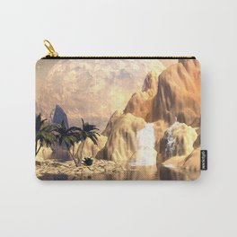 Mystical moon landscape Carry-All Pouch
