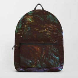 Forest Wall Dark Fairy Landscape Backpack