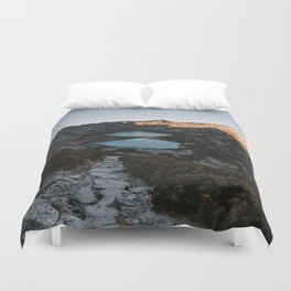 Mountain Ponds - Landscape and Nature Photography Duvet Cover