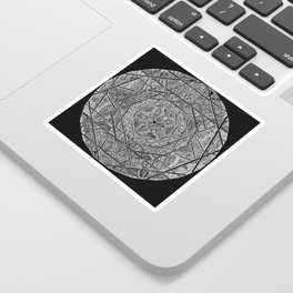 Milkweed Mandala | Lace Edition Sticker