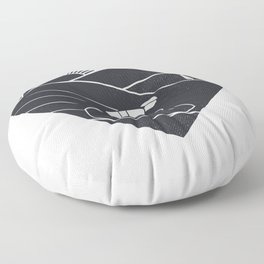 Love Cycling Floor Pillow