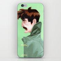 Brunette Man iPhone & iPod Skin