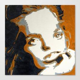 down Canvas Print