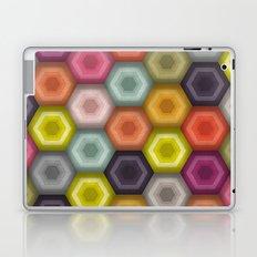 crochet honeycomb Laptop & iPad Skin