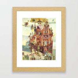 """Reconstruction of Cuaxies"" Framed Art Print"