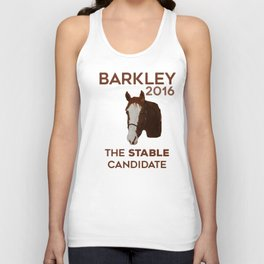 The Stable Candidate Unisex Tank Top