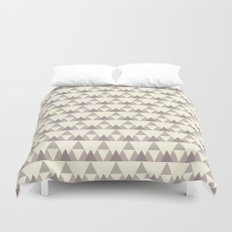 Tiny Triangles Duvet Cover