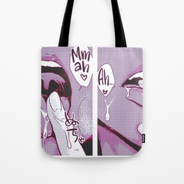Sexy anime aesthetic - Pink wet dream Tote Bag