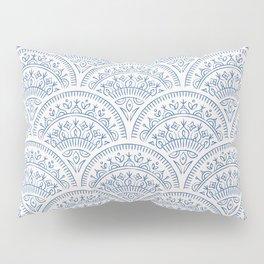 Bohemian Scallops - Cobalt Pillow Sham