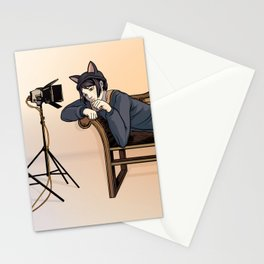Studio Shoot (Neko Version) Stationery Cards