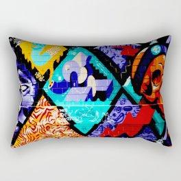 Melbourne Laneway Rectangular Pillow