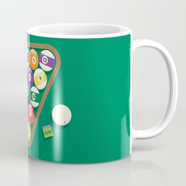 Billiard Balls Rack - Boules de billard Coffee Mug