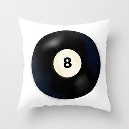 8 Ball Throw Pillow