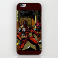 The Amazing Spider-Pool iPhone & iPod Skin