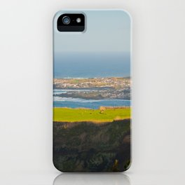 Azores coastal landscape iPhone Case