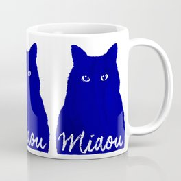 MIAOU bleu Coffee Mug