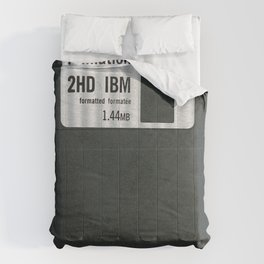 Retro 80's objects - Diskette Comforters