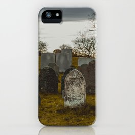 Old Burial Hill, Marblehead, MA iPhone Case