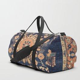 Sarouk Persian Floral Rug Print Duffle Bag
