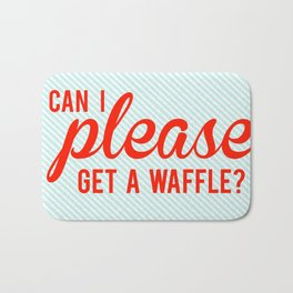Can I Please Get a Waffle Bath Mat