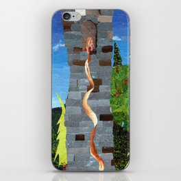 Let her hair down iPhone Skin