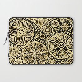 golden heart I love you Laptop Sleeve