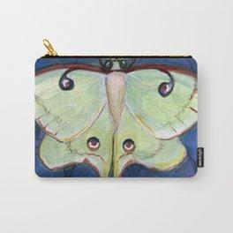 Deco Luna, Art Deco Inspired Luna Moth Carry-All Pouch