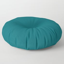 """Turquoise """"Shaded Spruce"""" Pantone color Floor Pillow"""