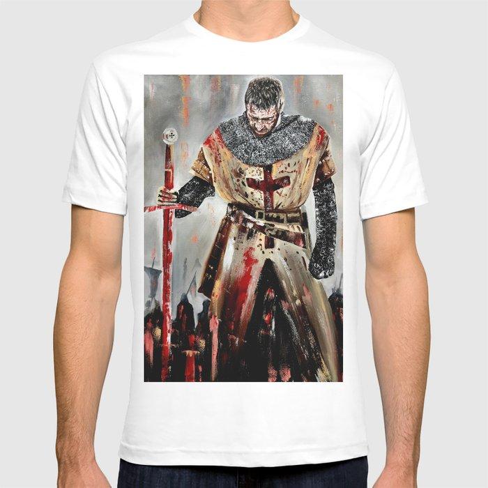 c89cbda34 The Knights Templar T-shirt by howie33   Society6