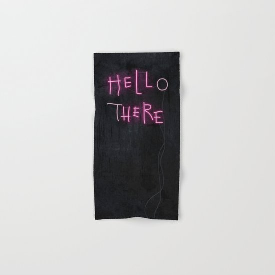 Hell Here Hand & Bath Towel