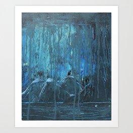 Monsoon Musings II Art Print