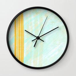 Abstract City Bridge Wall Clock