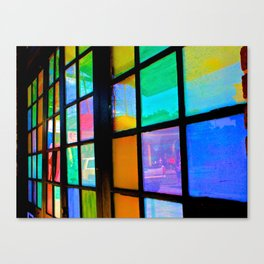 Life Reflected in Color Canvas Print