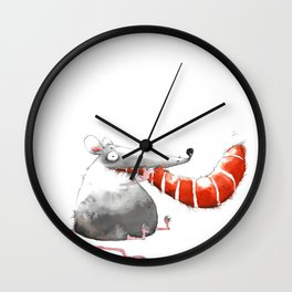 Happy End Wall Clock