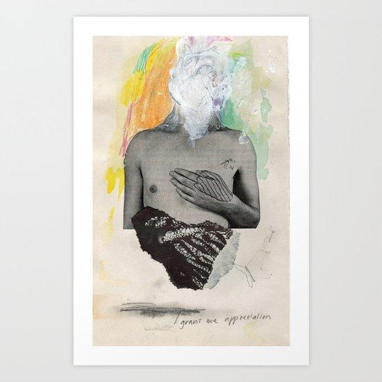 """1b - """"grant me appreciation""""  Art Print"""