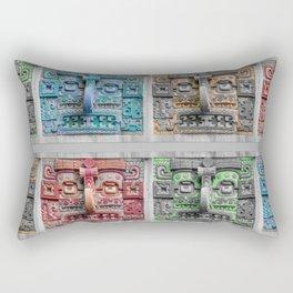 Rain God Rectangular Pillow