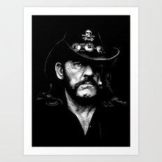 Lemmy Art Print