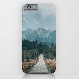 June Lake Loop iPhone Case