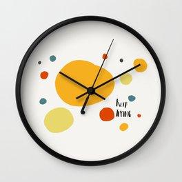 Keep Trying Wall Clock