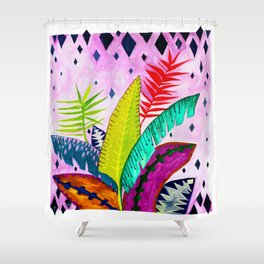 My Tropicana Garden Shower Curtain