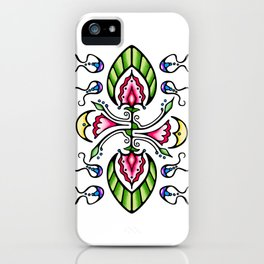 Moon Song 1 iPhone Case