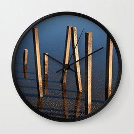 Walking Water Stilts Wall Clock