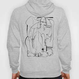Therapy - b&w Hoody