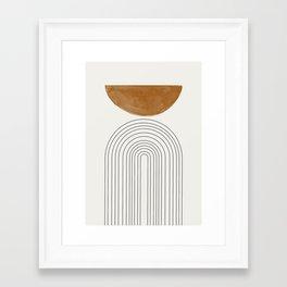 Minimalist Space Framed Art Print